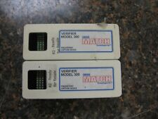 Lot (2) Cross Match Verifier Model 300 Usb Fingerprint Capture Device