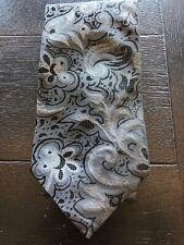 "Rare Amazing Thick Textured XMI Platinum Long XL Tie! - 62"" WOW!!! A3"