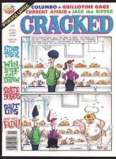 CRACKED # 247 1989 MAGAZINE JOHN SEVERIN BILL WARD MONSTERS ATTACK AD SHUT UPS