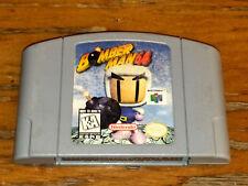*Authentic* Nintendo 64 N64 Game BOMBERMAN 64 NTSC-U/C US Canada Bomberman Man