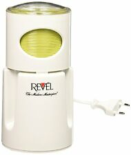 Revel CCM104 White Wet and Dry Coffee Spice Grinder, 220 Volts (Not for USA)