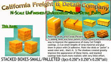 STACKED BOXES-PALLETED/Small(3pcs) N/1:160-Craftsman CAL FREIGHT nnPR4