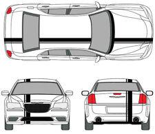 2005-2019 Chrysler 300 MOPAR Style Racing Stripe Graphic Decal Sticker 20 FEET