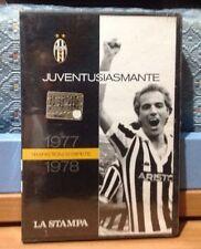 DVD JUVENTUSIASMANTE 1977-1978 TRAPATTONI SI RIPETE  JUVENTUS FC LA STAMPA NUOVO