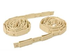 Roll Out 70mm Wide Rubber Sprung Bed Slat Set Holders / Strips / Caps - Pair