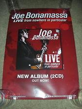 Joe Bonamassa - Live From Nowhere in Particular - PROMO POSTER