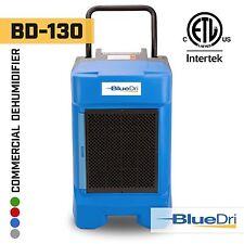 BlueDri® BD-130P 225PPD High Performance Industrial Commercial Dehumidifier Blue