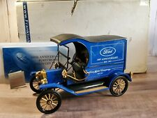 Franklin Mint 1913 Ford Model T 100th Anniversary 1:16 Diecast Delivery Van