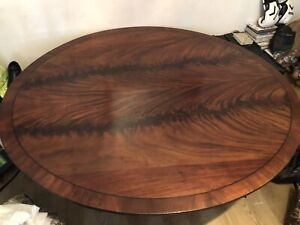 Polished Mahogony Oval Dining Table *Reduced*