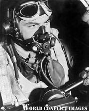 USAAF WW2 B-17 Bomber Invasion 2nd 8x10 Cockpit Photo Capt O'Neill 91st BG WWII