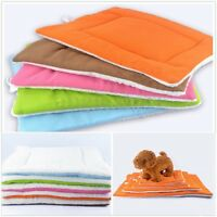 Medium Extra Large Pet Dog Bed Pad Blanket Cushion Mat Kennel Cage Indoor US