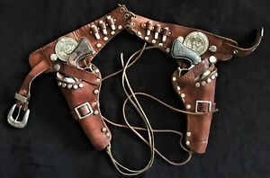Roy Rogers  Cap Guns, Holster and Bullets by Schmidt
