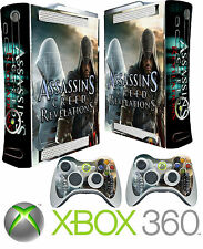 Xbox 360 Console Sticker Skin Assassins & 2 X Controller Skins