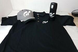 3x Gran Turismo (Limited Edition) Sport Merchandise Cap, Sports Mug Polo T Shirt