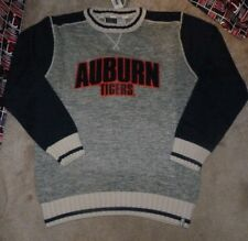 NEW NCAA Auburn Tigers Crew Dress Sweater Men Bruzer XL X-Large NEW NWT