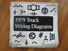 1979 Ford C-600 C-700 C-800 Truck Wiring Diagrams
