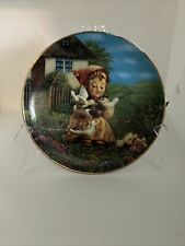 M. J. Hummel-Cinderella plate-from The Danberry Mint
