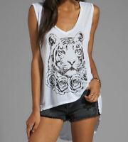 Lauren Moshi Dana Rose Tiger White