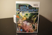 Sin and Punishment: Star Successor (Nintendo Wii, 2010) New / Factory Sealed