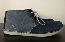 Mens Timberland Blue Suede Mid Casual Shoes Ortholite VGC - UK 10.5