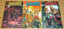 Headhunters #1-3 VF/NM complete series - image comics - chris marrinan set lot 2
