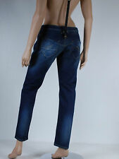 Jeans slim femme a bretelles FORNARINA TAILLE W 26 ( T 34 - 36 )