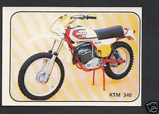 PANINI STICKER-MOTO SPORT 1979 Sticker N. 264-KTM 340