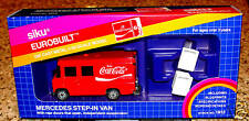 SIKU EUROBUILT MERCEDES STEP IN VAN COCA COLA 1/55 1912 WEST GERMANY
