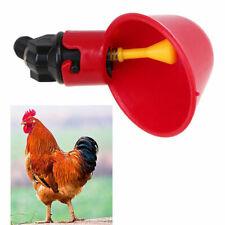 2/4/10pcs Poultry Water Drinking Cups Plastic Bird Chicken Hen Automatic Drinker