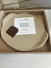 NEW In Stock Pampered Chef Personal Pizza Stone #100253 $35 Free Ship