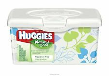 Baby Wipe Huggies Natural Care Tub Aloe Unscented #39301 64 Count