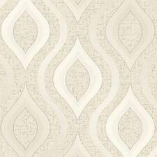Quarz Geometrische Tapete Gold - Fine Decor FD41973 Glitzer Luxus