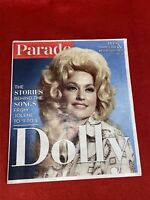 """Dolly Parton on the cover of Parade Magazine November 1, 2020 """"The Stories..."""""""