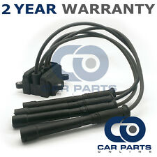FOR RENAULT CLIO CAMPUS MK2 PHASE 2 1.2 PETROL 2005-09 IGNITION COIL PACK LEADS