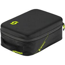 SCOTT MX Black Neon Yellow 5 Piece Motocross Goggle Bag Travel Carry Case