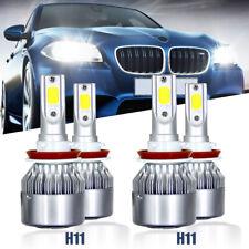 Combo H11 H11 LED Headlight Hi Lo Beam Kit Fit For Dodge Grand Caravan 2011-17