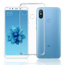 For Xiaomi Mi A2 Case Clear Slim Gel Cover Transparent Soft Silicone
