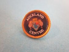 Metal & Enamel Pin Badge. Auckland Centre. Good Used Condition