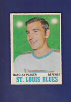 Barclay Plager 1970-71 O-PEE-CHEE OPC Hockey #99 (EXMT) St. Louis Blues