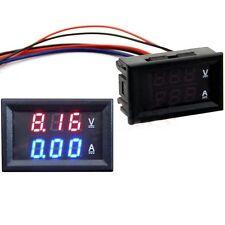 DC 4.5-30V 0-50A Dual Display LED Digital Voltmeter Ammeter Voltage AMP Power