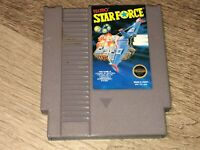 Star Force Nintendo Nes Cleaned & Tested Authentic