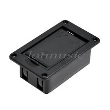 Black 9V Battery Cover Case/Holder/Box Compartment for Guitar Bass No Terminal