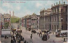 G. P. O. & Waterloo Place, EDINBURGH, Midlothian