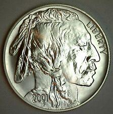 2001 American Buffalo Silver Dollar $1 Coin BU UNC US COIN ONLY