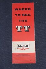 Where To See The TT With Compliments Of The Mobil Oil Company Limited