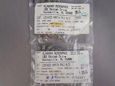 99pc Asst AL Aerospace (49) NAS1223C1L (50) NAS1223-2L Self-Locking Bolts NEW