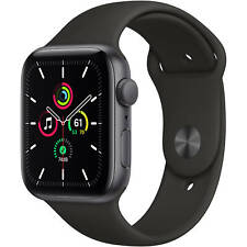 Apple Watch SE GPS/Bluetooth 40mm Space Gray with Black Sport Band