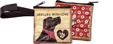 Pet Dog Cat Waste Bag Pouch Rescued With Love #1420