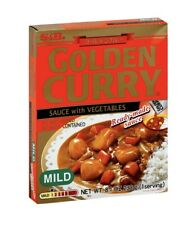 S&B Golden Curry Sauce with Vegtables Mild 8.1-Ounce Boxes Pack of 5 Pcs