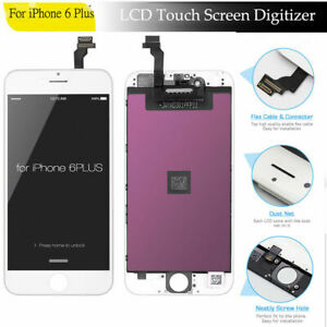For iPhone 6 Plus LCD Display Assembly Digitizer Touch Screen Black/White